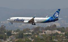 737 N494AS LAX 020818 01 (JMR 747) Tags: 737 alaskaairlines 737990er 737900 lax n494as
