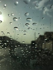 Untitled (HMN47) Tags: day light machine rainy drops water country town city tehran iran zoom pic photo sky blue bluesky apple iphone drop street focused macro photography urban car window glass rain