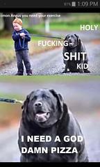 Fat 🐕 senpai (funnipic) Tags: funny pics