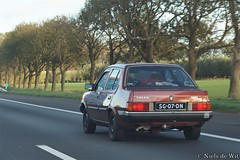 1984 Volvo 360 GLE (NielsdeWit) Tags: nielsdewit car vehicle sg07dn a12 driving highway volvo 360 gle