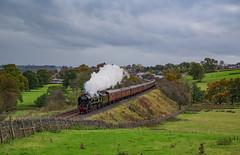 35018 At Lazonby. 17/10/2018. (briandean2) Tags: 35018 britishindialine pendledalesman lazonby steamrailways steam railways settlecarlislerailway cumbria uksteam ukrailways