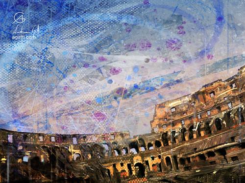 Iterni Colosseo Tramonto