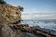 R18_8521 (ronald groenendijk) Tags: cronaldgroenendijk 2018 rgflickrrg beachview calp calpe calpearea copyrightronaldgroenendijk landscape nature outdoor rock sea spain spanje water