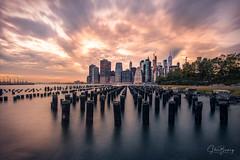 Brooklyn Bridge Park II (sberkley123) Tags: ngc nyc d850 newyork brooklynheights newyorkcity pilings manhattan usa longexposure brooklynbridgepark 1424mm