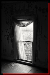 From a time before (PhotoJester40) Tags: indoorslookingout insidelookingout window cutrain brokenwindow floorwindow oldstyle vintagelook 1800s stylish bw blackandwhite blackwhite bnw noirblanc creative passionate eerie intreging classic special oneofmyfavorites amdphotographer