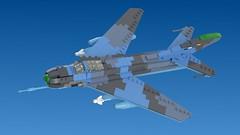 Jian-6A (Awesome-o-saurus) Tags: lego mig19 j6 jet fighter plane