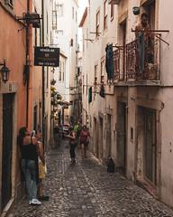Lisbon   |   Alfama Street (JB_1984) Tags: street streetphotography urban lane people decay urbandecay alfama lisbon lisboa portugal nikon d500 nikond500