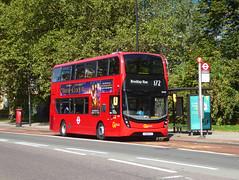 GAL EH254 - YX18KTC - OLD KENT ROAD - THUR 6TH SEPT 2018 (Bexleybus) Tags: goahead go ahead london hybrid tfl route adl dennis enviro 400 mmc 172 eh254 yx18ktc old kent road