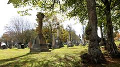 Fernhill Cemetery October 2018 7070 16x9 c (DaveyMacG) Tags: saintjohn newbrunswick canada fernhill cemetery autumn fall