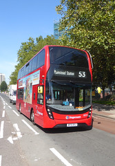 SLN 13074 - BF15KHJ - OLD KENT ROAD - THUR 6TH SEPT 2018 (Bexleybus) Tags: stagecoach london tfl route 53 old kent road adl dennis enviro 400 mmc volvo 13074 bf15khj selkent