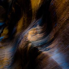 In Canyons 272 (noahbw) Tags: d5000 grandstaircaseescalantenationalmonument nikon utah williscreek abstract autumn canyon cliffs desert erosion light natural noahbw rock slotcanyon square stone