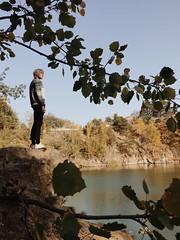 Autumn 2018 (katarinakadijevic) Tags: autumn fall portrait mother nature elf mystic poem leaves song lake water life sun blackandwhite tree wood woods forest