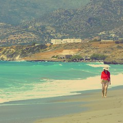 South Crete (Pap_rika) Tags: summervacation walking beach seaside warmfeeling outdoorphotography landscapes people colour layers