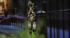irrISIStible  MISS BEETLEJUICE (Lichy L0ve) Tags: swank event creepy slink secondlife irrisistible maitreya mesh belleza monster gothic tonic