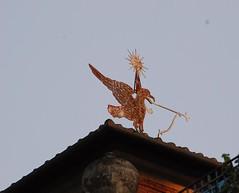 Banderuola a forma di gallo - Quartiere Coppedé