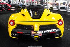 Ferrari LaFerrari (Hunter J. G. Frim Photography) Tags: supercar hypercar auction carmel monterey car week 2018 carweek ferrari laferrari hybrid electric yellow red italian coupe carbon v12 ferrarilaferrari