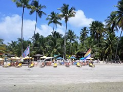 The Empty Beach (Helenɑ) Tags: island morrodesãopaulo bahia brazil beach hotel private