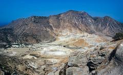 View into the volcano (Lense23) Tags: volcano vulkan greece griechenland landscape landschaft island insel mediterraneansea mittelmeer ägäis aegean nisyros