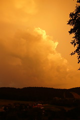 Een gouden zonsondergang. (limburgs_heksje) Tags: duitsland deutschland germany zwartewoud schwarzwald black forest herrischried zonsondergang