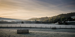 Morning frost (designfabric57) Tags: g7 lumix panasonic hills fields mist sunrise frost