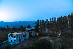 Morning view of Leh (Mohan.Singh) Tags: leh ladakh morning blues landscape