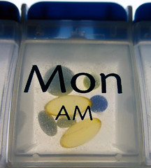 Monday Morning Medication (arbyreed) Tags: arbyreed macromondays remedy pills pillremnder pillbox medication backlight close closeup hmm