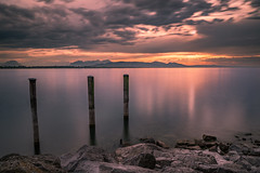 Bodensee - Lochau (markus_mk85) Tags: bodensee lochau see sea water clouds sky wolken sun sonnenuntergang sunset