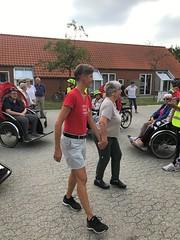 Billund Dagtur August 2018 Cykling uden alder Inden afgang Lene Bruun