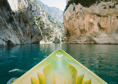 Kayak POV (mhoechsmann) Tags: 2018 europe france gorgesduverdon kayaking midday provence travel verdon