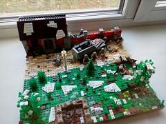 "Lego M.O.C. ""October 1944"" (A.V.V.) Tags: lego moc avv ww2 world war 2 franch"