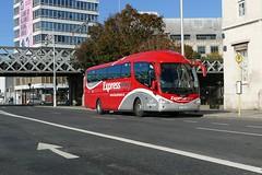 SP 100 Custom House Quay 14/10/18 (Csalem's Lot) Tags: dublin bus buseireann scania irizar sp 100x sp100 customhousequay expressway