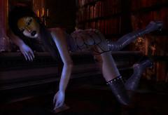 Wicked Never Looked So Good (Stormy_Somerton) Tags: evestudio eudora3d tearlightsbodysuit halloween snakeskin boots glitter mask
