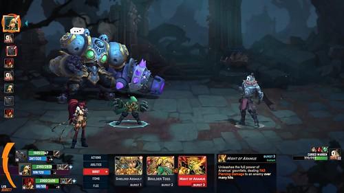 Battle Chasers: Nightwar Gameplay