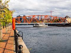 Detroit Bridge #3 (jason_hindle) Tags: manchester unitedkingdom greatermanchester ipadair2 salford salforddocks autumn lightroomcc olympus1240f28 detroitbridge huronbasin eriebasin snapseed olympusomdem5 salfordquays