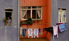 I´m Watching You (lugar.citadino) Tags: explore world earth place city cityscape urban urbanscape building windows objects clothes socks towel flower man people photography photo picture image panorama wide angle color moment spring day afternoon awesome beautiful creative imaginative perfect stunning sensational latinamerica américalatina southamerica sudamerica chile valparaiso valpo ciudadpatrimoniodelahumanidad