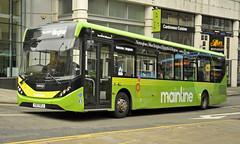 YX17NTJ Trent Barton 111 (martin 65) Tags: e200 enviro mmc transport trent barton nottinghamshire nottingham adl mainline skylink indigo mango vehicle bus buses