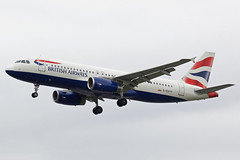 British Airways Airbus A320-232 G-EUYF (Paul's Aircraft and Transport Images) Tags: british airways airbus a320 232 london heathrow lhr myrtle avenue