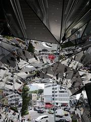 regards en folie (EP61) Tags: miroir regard facettes gratteciel tokyo japon e©p