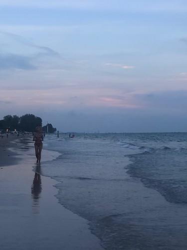 WARM EVENING BEACH, Hua Hin, Thailand