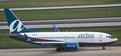 Boeing 737-76N N295AT (707-348C) Tags: atlanta hartsfield katl boeing airliner jetliner boeing737 b737 n295at airtran trs georgia usa 2008 passenger atl