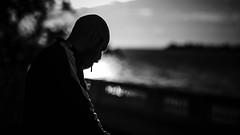 Ale en Colonia (Diego Epstein) Tags: d600 nikon vivitar 85mm f14 portrait retrato blancoynegro blackandwhite cigarrillo cigarette silhouette contraluz backlight bokeh lowkey uruguay coloniadelsacramento