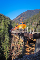 edit-4589 (Travel By Train) Tags: bnsf burlington northern santa fe railway railroad train washington