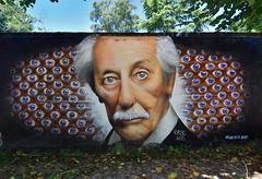 Mr Jean Rochefort (HBA_JIJO) Tags: streetart urban graffiti art hbajijo wall mur aerosol peinture portrait celebrity spray urbain cinema star paris78 rast oas eyes france painting