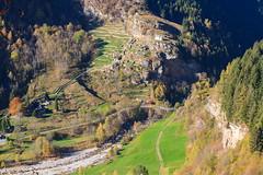 Ingegno Agricolo (Roveclimb) Tags: mountain montagna alps alpi escursionismo hiking calanca valcalanca rossa calvaresc lagocalvaresc laghdecalvaresc autunno autumn fall season stagione abiez scatela