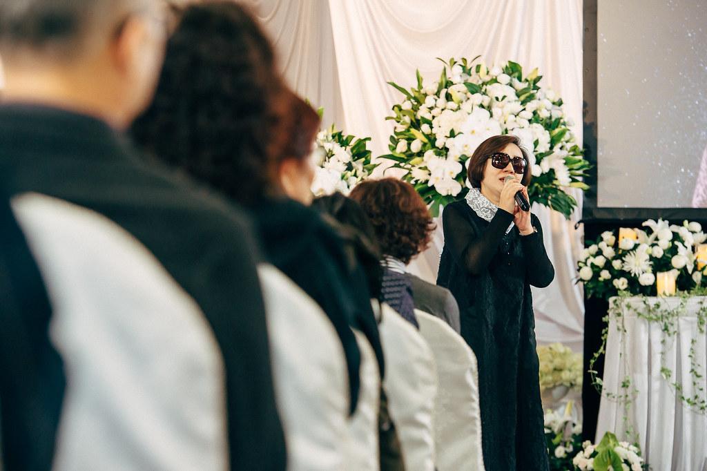 《喪禮攝影》新北市立板橋殯儀館/ 崇義廳 / 宋奠