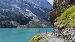_SG_2018_09_0030_IMG_0093 (_SG_) Tags: schweiz suisse switzerland daytrip tour wandern hike hiking kandersteg lake oeschinen oeschinensee upper station heuberg panorama unterbärgli oberbärgli nature aussicht view unesco world heritage trail mountain berge loop