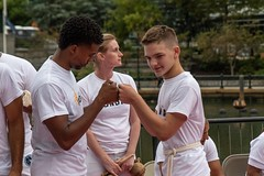 2018-9-8 Grupo Ondas Capoeira at WaterFire (Photograph by Kevin Murray) (4)