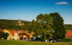 Schloss Tonndorf (berndtolksdorf1) Tags: deutschland thüringen tonndorf schloss jahreszeit herbst autumn bäume häuser wald