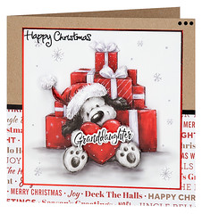 Craft Creations - Shelley169 (Craft Creations Ltd) Tags: puppy christmas greetingcard craftcreations handmade cardmaking cards craft papercraft