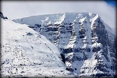 Icy topping (Jasper NP, Canada) (armxesde) Tags: pentax ricoh k3 canada kanada alberta rockymountains jasper jaspernationalpark berg mountain schnee snow snowdome glacier gletscher columbiaeisfeld columbiaicefield